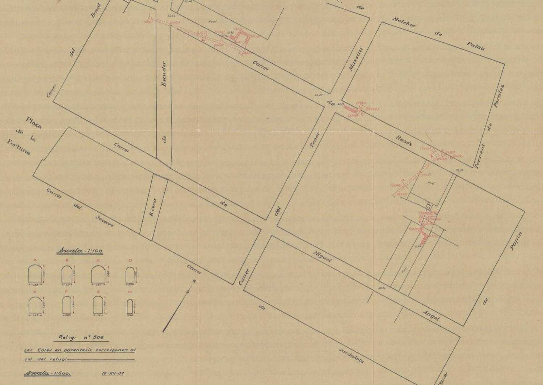 1936 AMCB Refugi 506- carrers Rosés 40, Brasil i Torrent de Perales