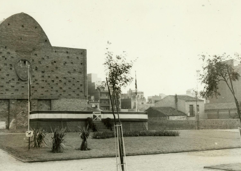 1961 AMDS Festa de l_Arbre. Jardins de Can Mantega