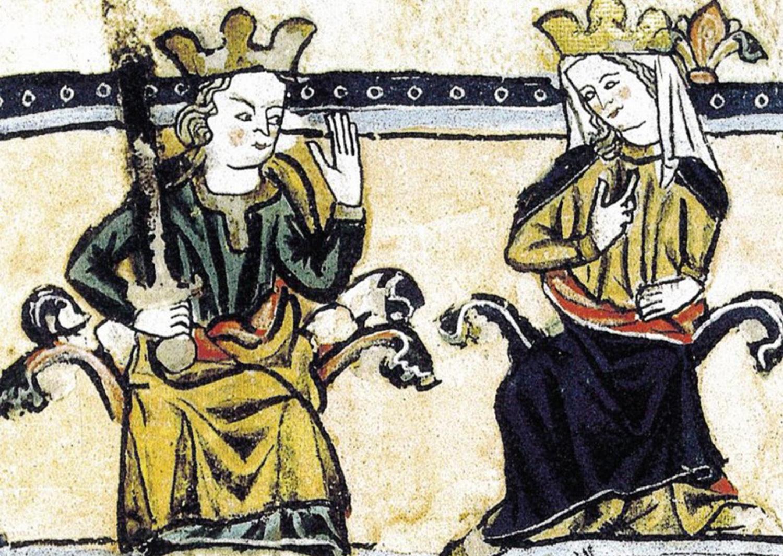 Jaume I i Violant d_Hongria