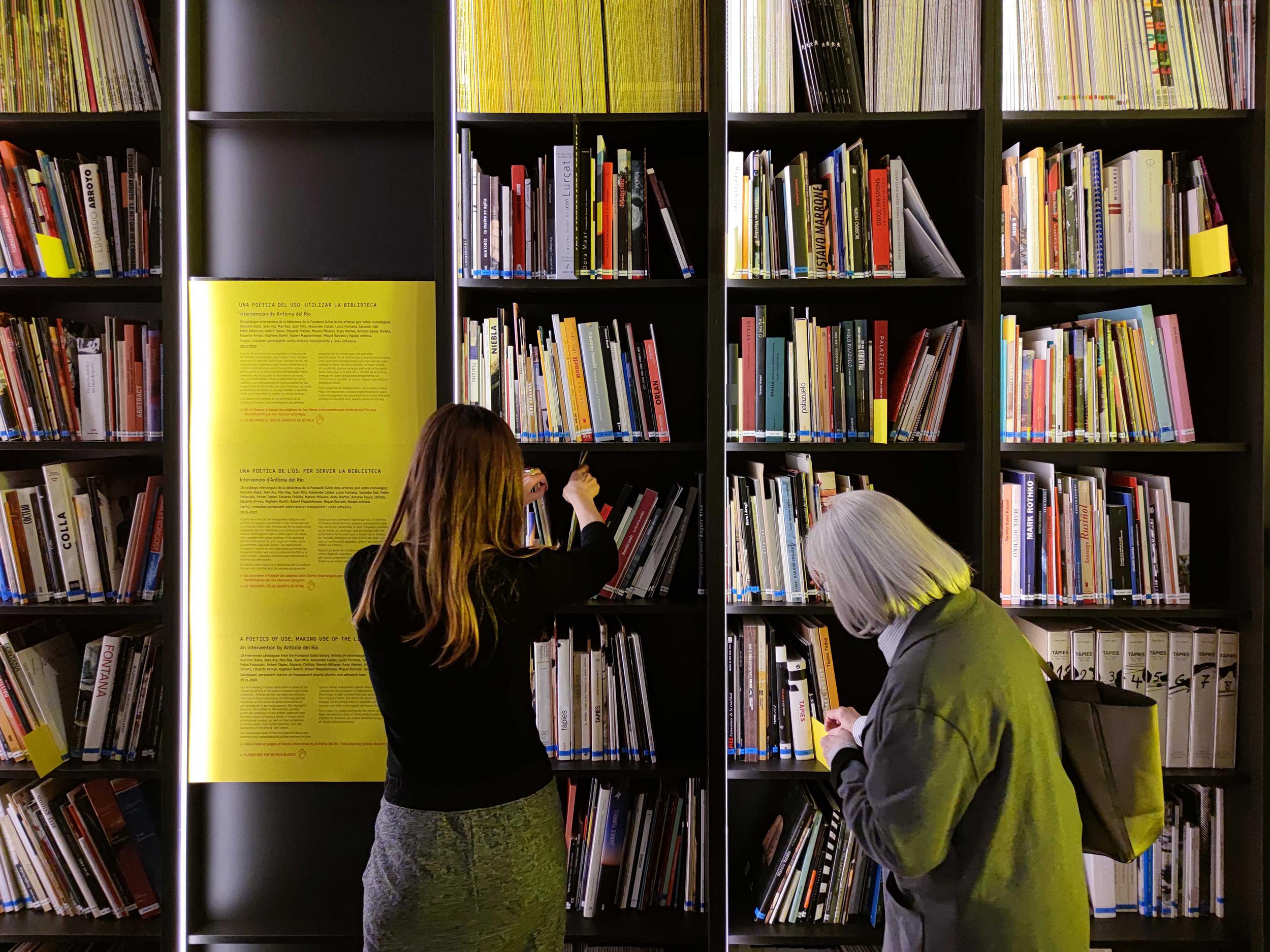 Una poètica de l'ús: fer servir la biblioteca