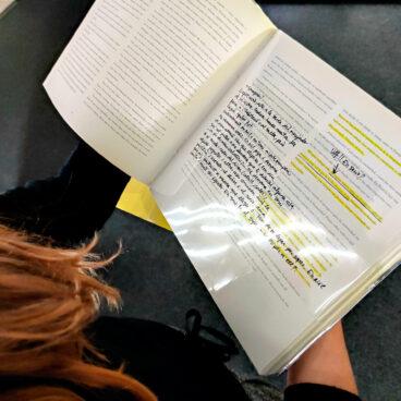 Visita comentada a Una poética del uso: utilizar la biblioteca a cargo de la artista Antònia del Río. 12:30h